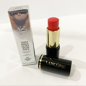 Lancome Teint Ultra wear stick 201 Bright red new